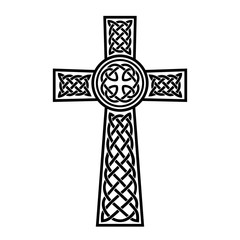 Decorative Celtic cross