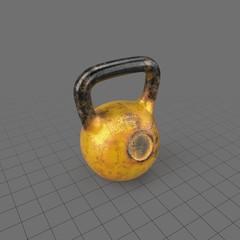 Metal kettlebell