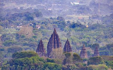 Prambanan Temple Landscape