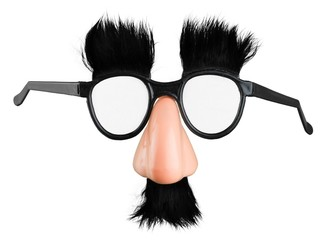 Classic Disguise Mask with Fake Nose and Moustache