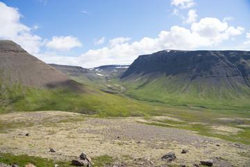 Landschaft in den Westfjorden, Island