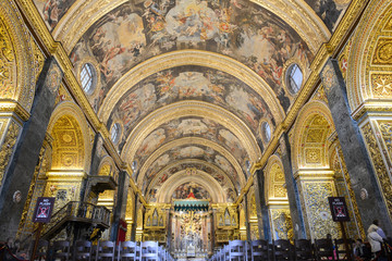 St John's Co-Cathedral in Valletta Wall mural