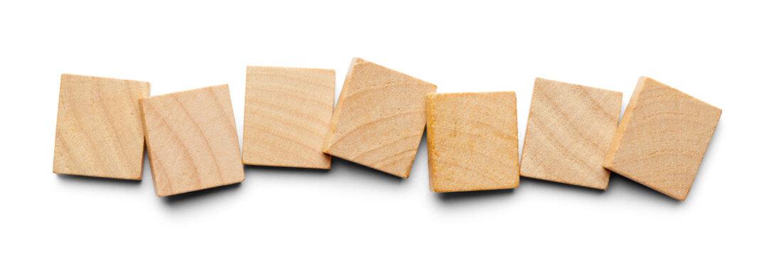 Seven Wood Tiles