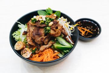 Vietnamese Combination Noodle Grilled Pork