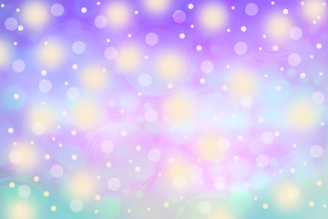 soft pink ,purple and blue colorful  bokeh background