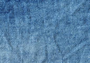Abstract blue denim texture. Blue jean background