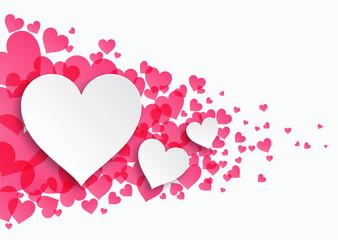 Valentine_Heart Pattern #Vector Graphics