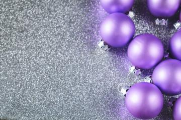 Christmas Decoration Glitter and Bulbs