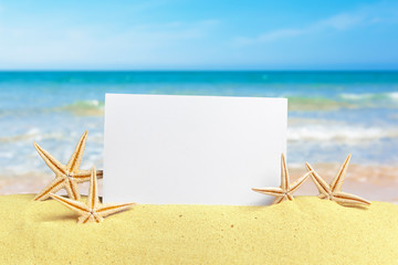 photos on sand background