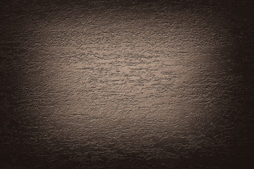 Dark brown beige abstract texture vignette background