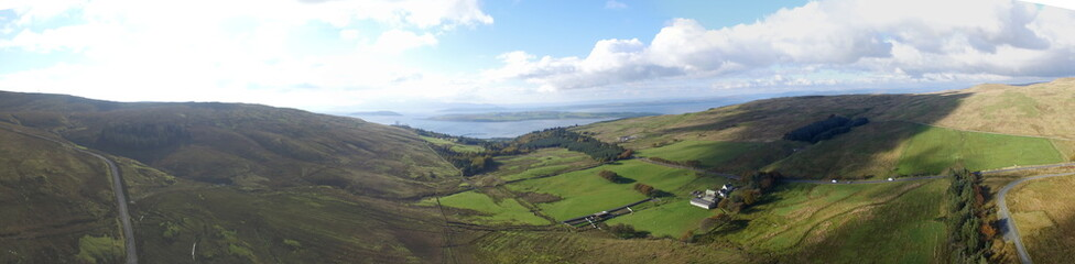 Ayrshire From Above