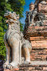 ruins of the ancient kingdom of Ava Amarapura  Mandalay state Myanmar