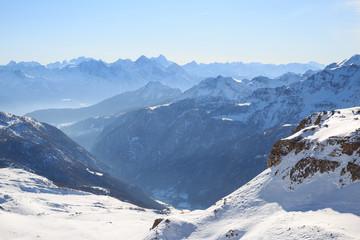 panorama alpino - Valtournanche