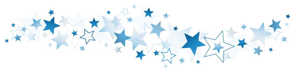 Border Dark Blue Stars