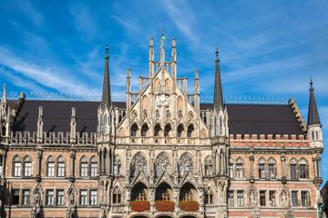 München - Altstadt - Rathaus am Marienplatz