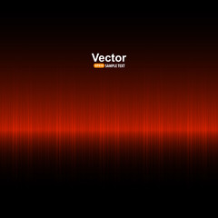 Red equalizer, vector background