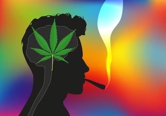 drogue - santé - addiction - cannabis - joint - cerveau - jeune
