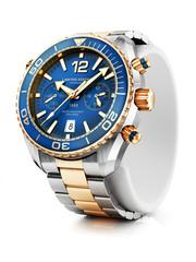 Luxury wrist watch closeup