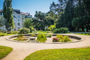 Alpengarten, Botanischer Garten in Wien, Österreich