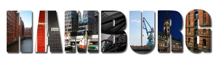 Hamburg banner collage