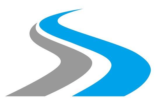 letter S way logo
