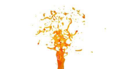 fountain orange juice