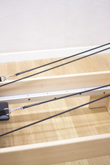 Reformer pilates studio machine