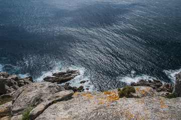 Partial view of Finisterre, from the cliff