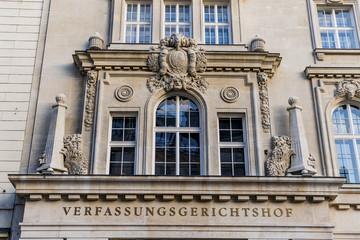 vienna, constitutional court