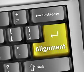 Keyboard Illustration Alignment
