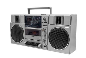 alter kasettenrecorder, ghettoblaster, radio