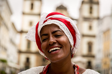 Brazilian woman of African descent, Bahia, Brazil