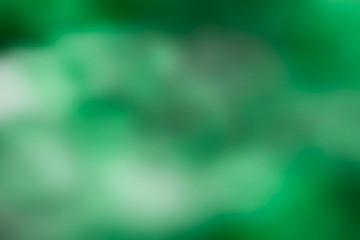 Abstract blurred green smoky background, photo