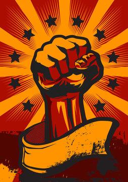 Revolution Fist Up