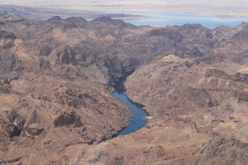 River into Lake Mead