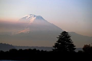 Mount Rainer Morning