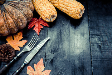 Thanksgiving background, fruit and vegetable