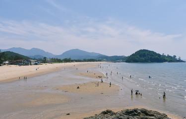 한국 바다