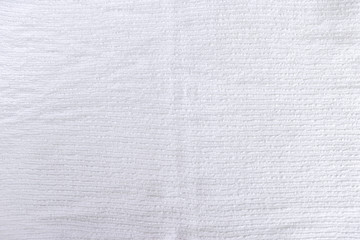 White towel texture background