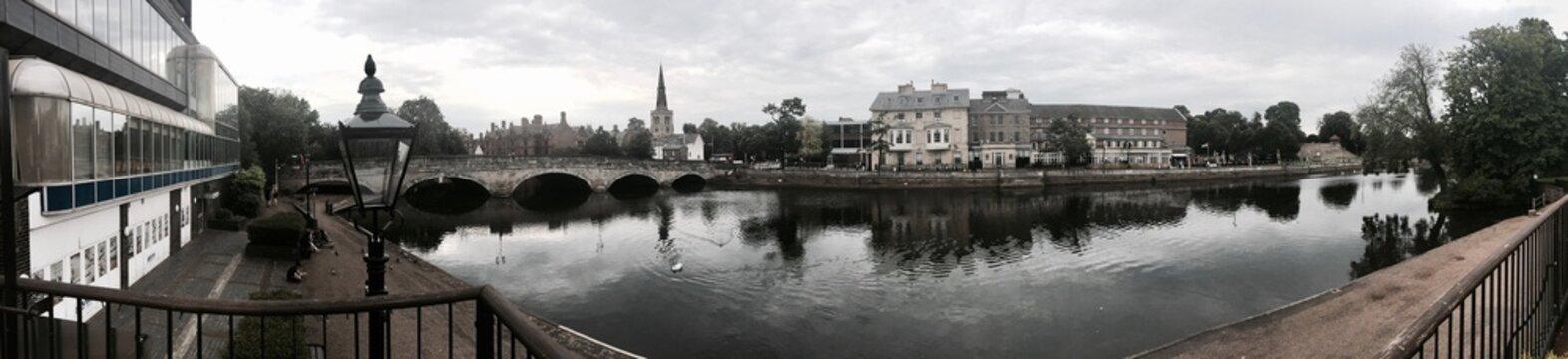 Bedford River Panorama