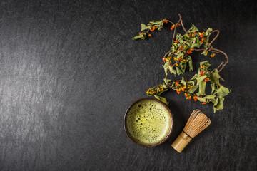 抹茶 茶道 Traditional beauty green tea of Japan
