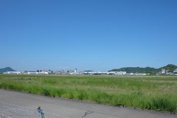 松山空港(空港外)
