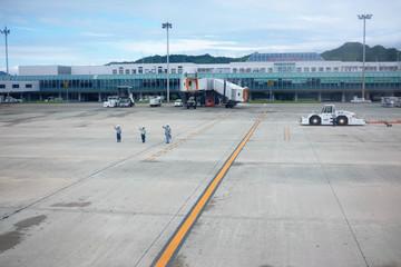 松山空港(見送り)