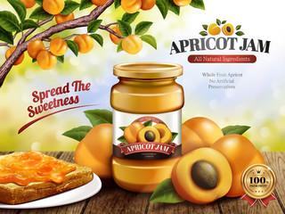 Apricot Jam ads