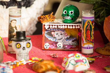 Day of the dead attributes