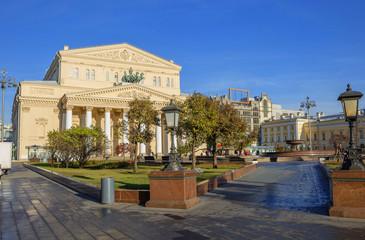 Россия. Москва. Большой театр.