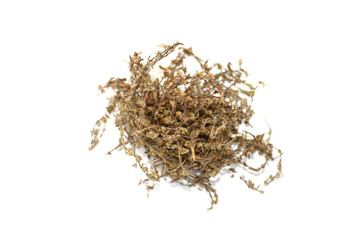 Pile of Dried wild thyme