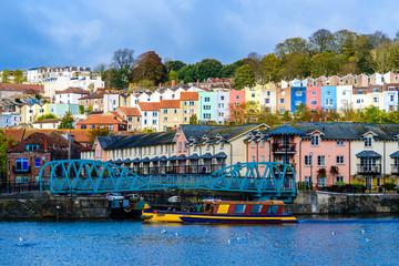 Bristol harbourside bridge