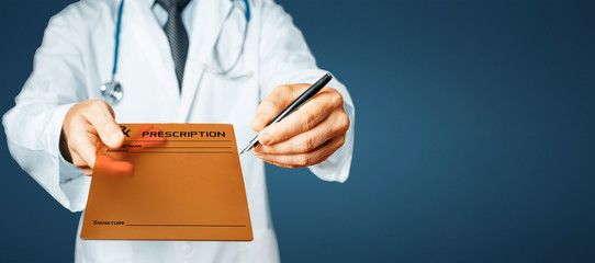 Doctor Pointing Your Prescription Text On A Digital Tablet Screen
