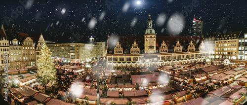 Weihnachtsmarkt Leipzig.Weihnachtsmarkt In Leipzig Stock Photo And Royalty Free Images On